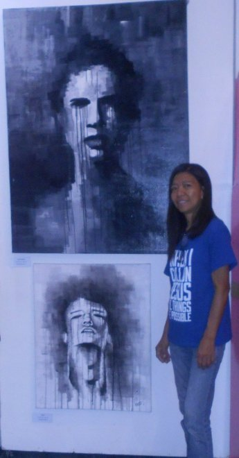 Me and a Dieg Mendoza artwork