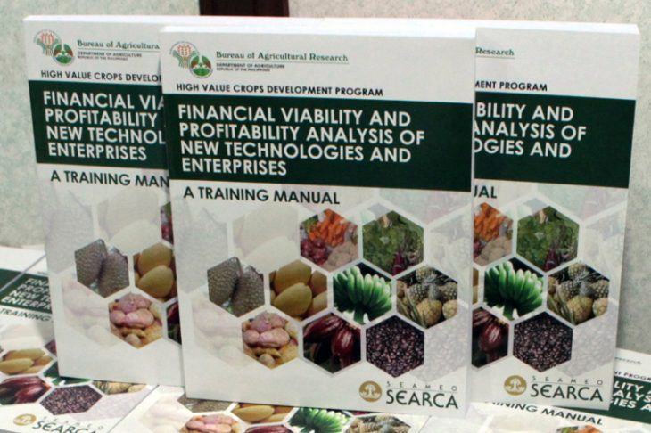 SEARCA establishes capability building courses for agricultural entrepreneurs to help boost productivity in mango, abaca, cacao, herbalmedicine