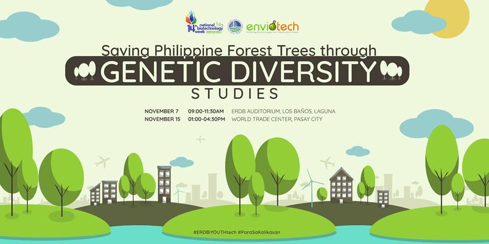 PHOTO Saving Philippine Forest Trees Through Genetic Biodversity