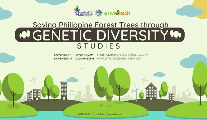 "Govt embarks on robust ""genetic diversity"" program on narra, industrial tree species rattan to reverse massive deforestation, 6 provincesidentified"