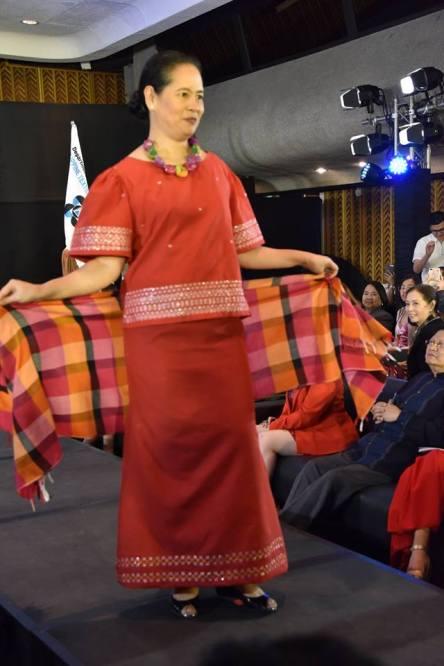 PHOTO Filipino designed textile