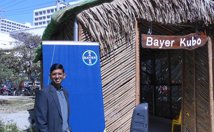 First-of-its kind urban farm in bustling Taguig City put up by Bayer, Conrad Manila buys theproduce