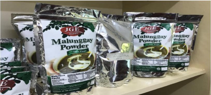 Malunggay, dilis help fight malnutrition, SLSU developed highly marketable Malunggay Powder and DilisFlour