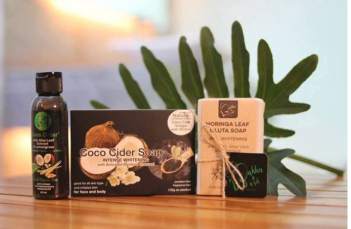 World's first coconut cider soap developed for fair skin, anti psoriatic cure, facial cleanser by a Filipino advocate of the'natural'