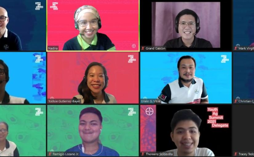 Six delegates to represent the Philippines in virtual global Youth Ag Summit, young leaders to pitch for sustainable agricultureproject